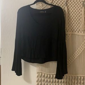 MINKPINK Blouse with Bell Sleeves